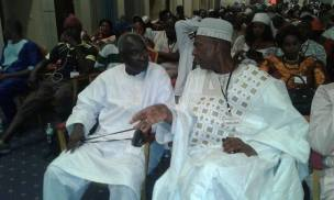 Hon. Halifa Sallah and Hon. Hamat Bat