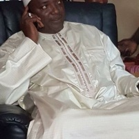 Gambia's New President-Elect Adama Barrow