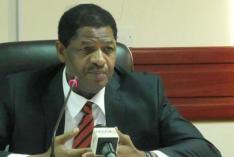 ECOWAS President Mr Marcel de Souza