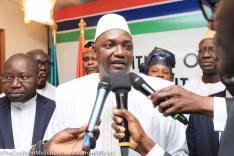 Gambia's New President Adama Barrow