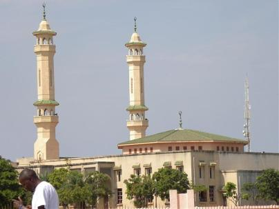 King Fahad Mosque in Banjul
